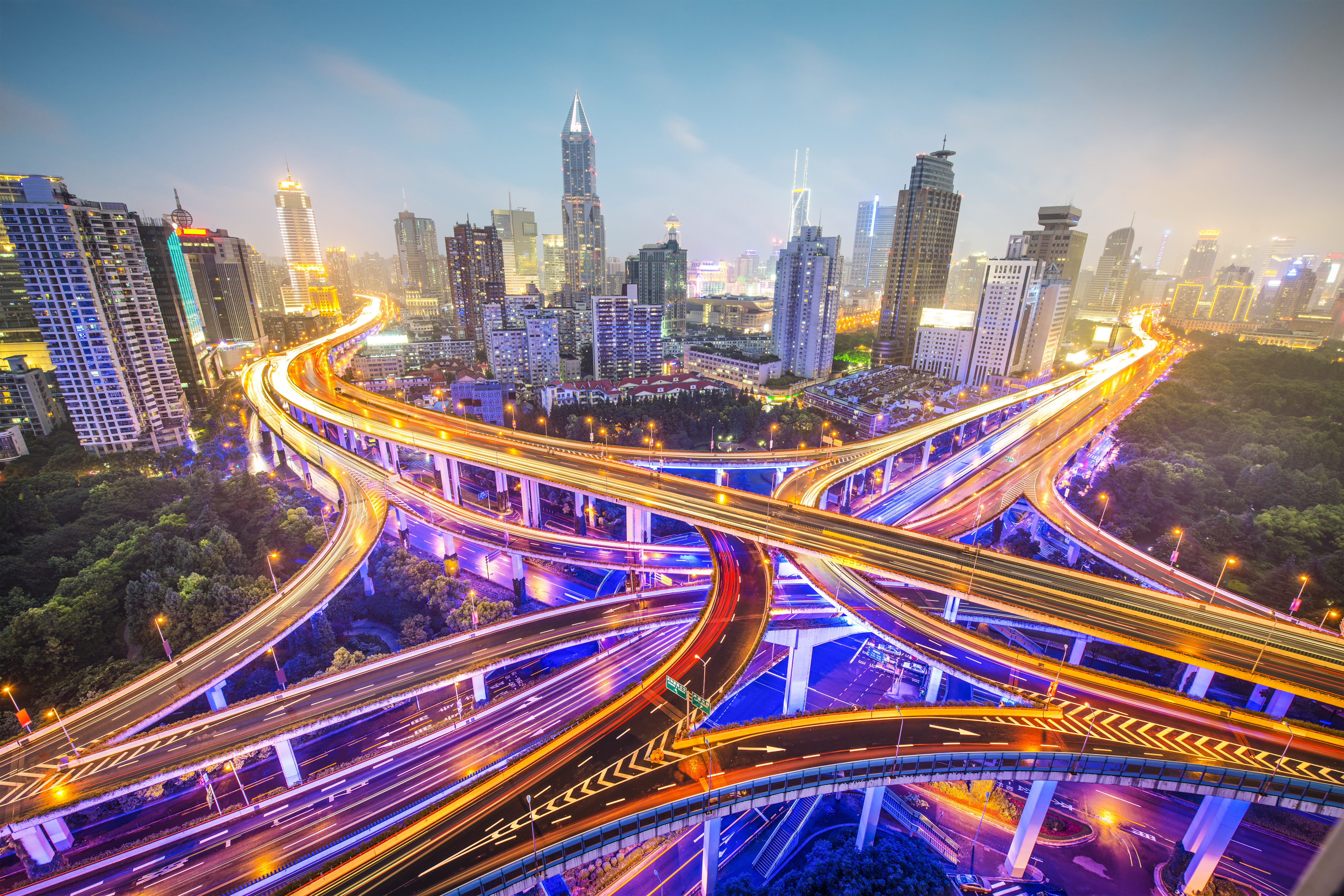 Chinese Infrastructure Projects - Shanghai highway