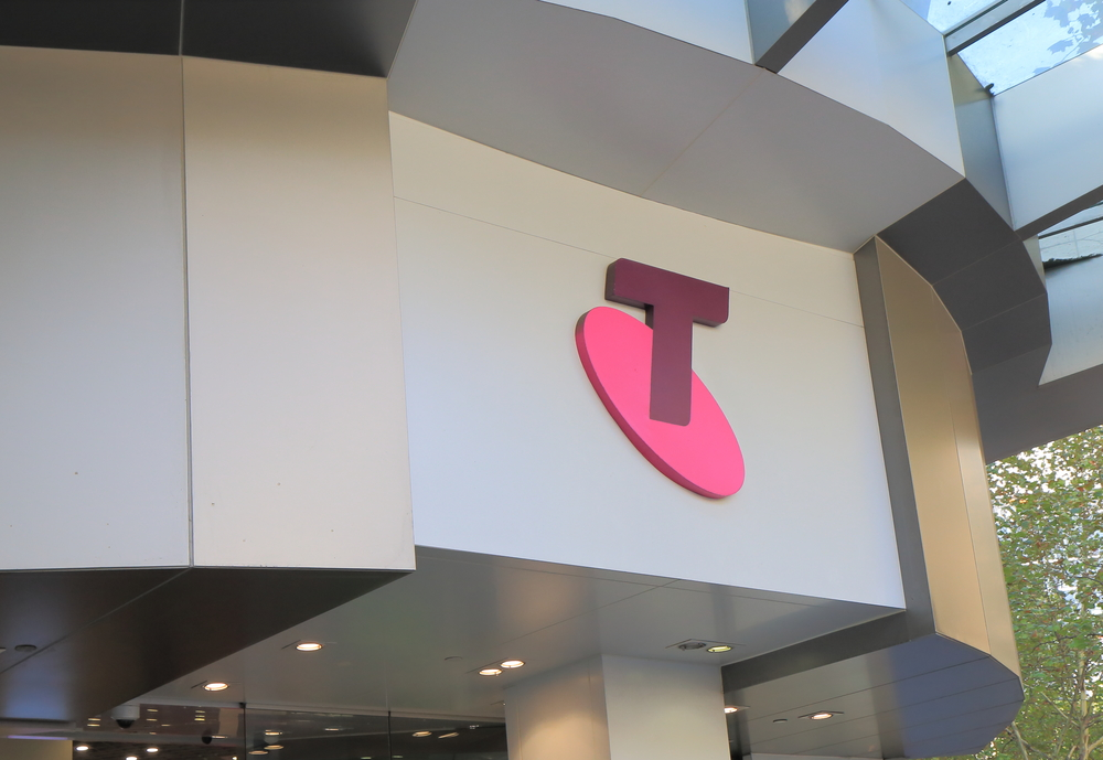 Telstra share price