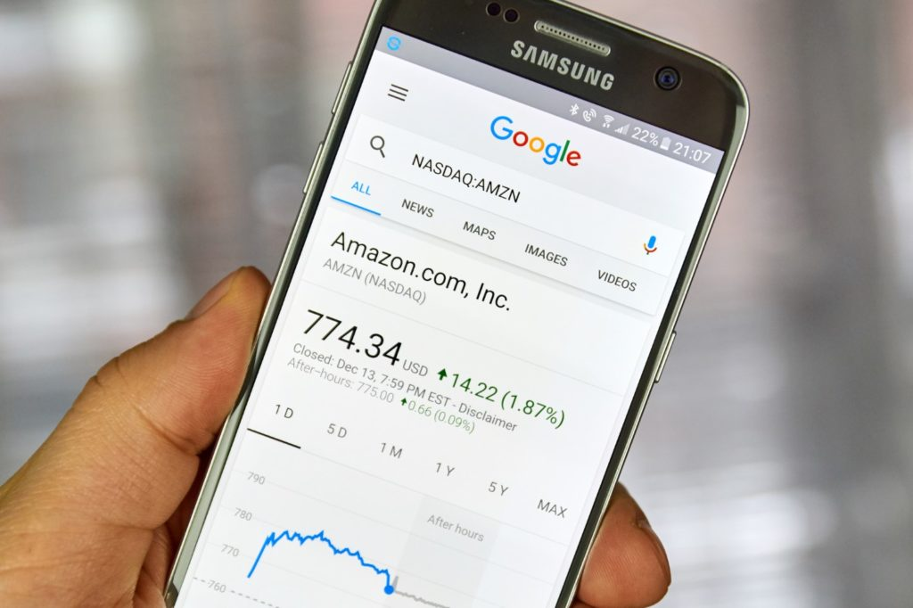Why is Google jealous of Amazon's potential markets?